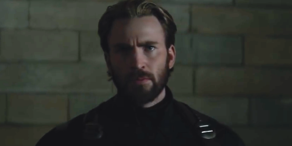 Avengers Infinity War Fans Are Obsessed By Captain America With A Beard