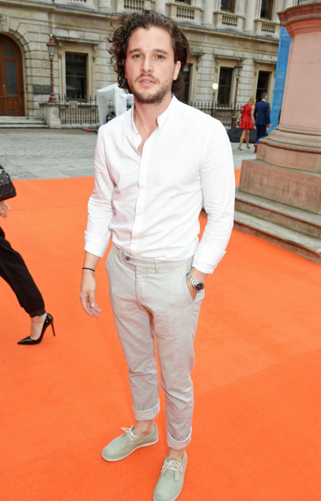 649a0daad Kit Harington attends the Royal Academy Of Arts Summer Exhibition preview  party at Royal Academy of