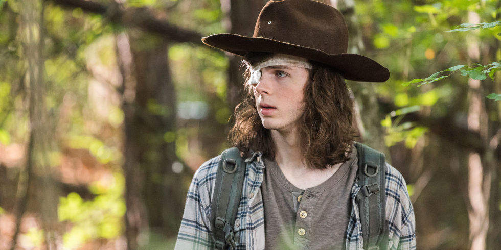 Chandler riggs is aiming to launch a music career carl grimes the walking dead season 8 m4hsunfo