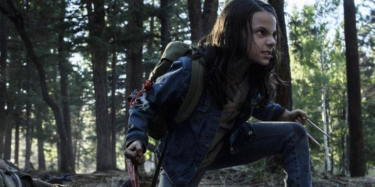 Dafne Keen as Laura (X-23) in Logan
