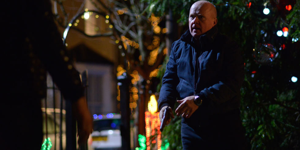 phil mitchell and max branning have a showdown on eastenders - What Day Does Christmas Fall On
