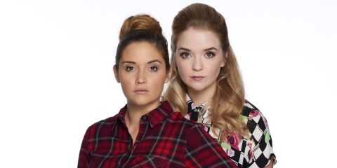 Lorna Fitzgerald And Jacqueline Jossa As Abi Lauren Branning In EastEnders