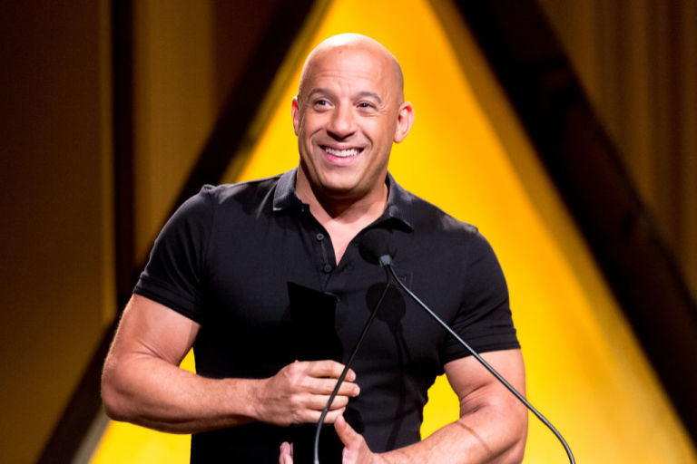 Vin Diesel, co-star insieme a Sam Heughan in Bloodshot