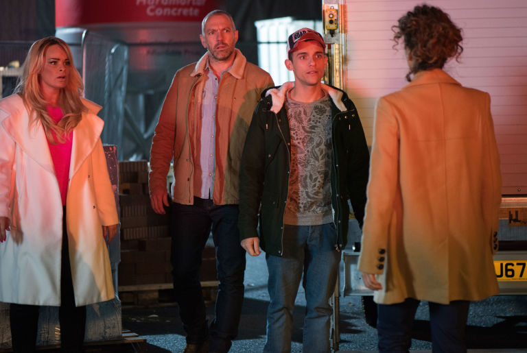 Jesse Donovan gets arrested in Hollyoaks