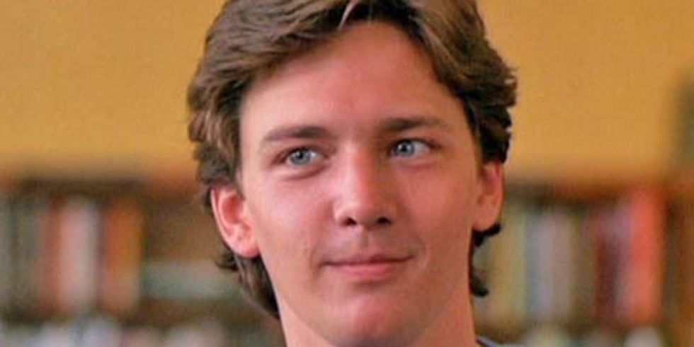 Image result for andrew mccarthy pretty in pink