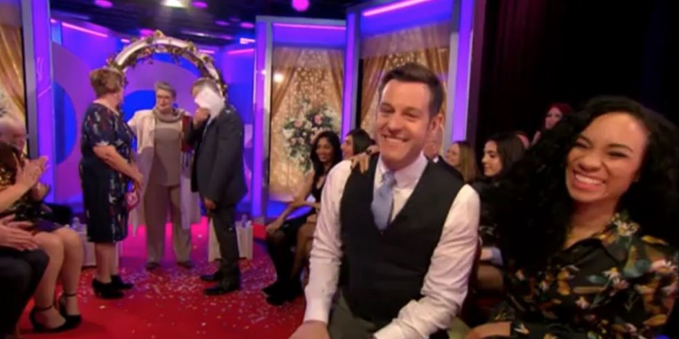The One Show and Lorraine Kelly host triple wedding vow renewal on ...