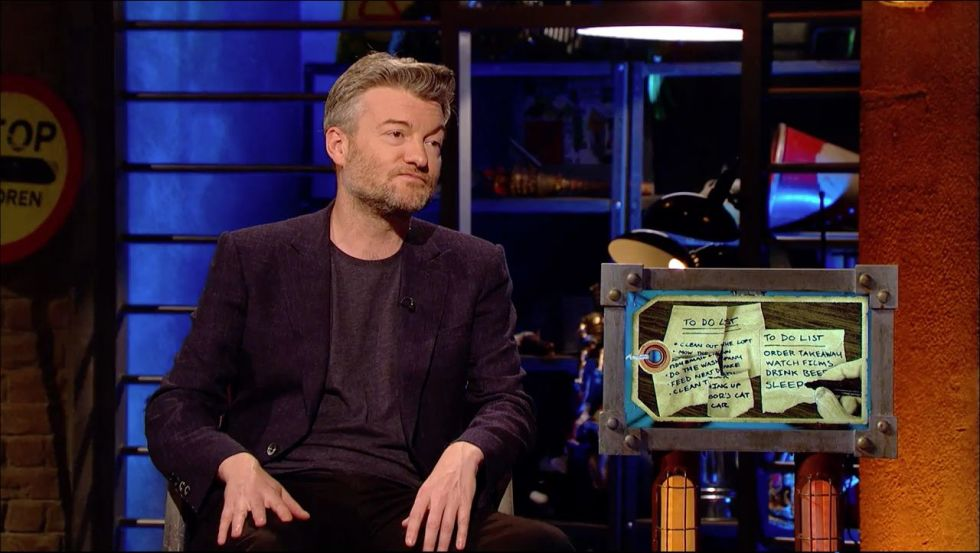 Charlie Brooker tries to put 90% of everything in life into Room 101