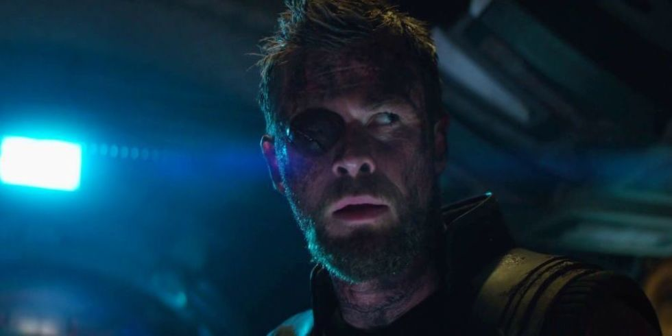 what s going on with thor s missing eye in this new avengers