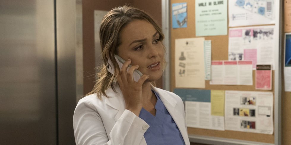 Greys Anatomy Star Camilla Luddington Reacts To That Huge Paul