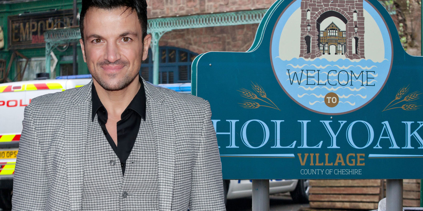 Peter Andre wants a role in Hollyoaks