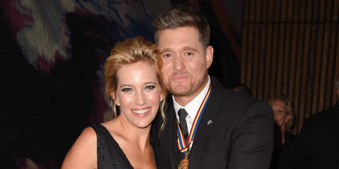 Luisana Lopilato And Michael Buble Attend The Governor Generals Awards Th Anniversary Gala