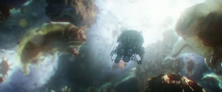 Ant-Man and the Wasp submarine