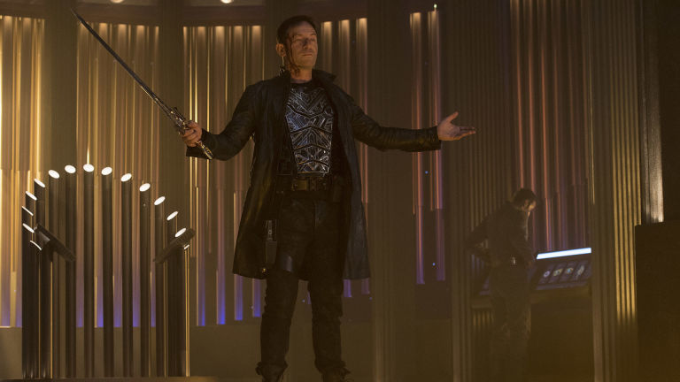 lorca in star trek discovery episode 13 - When Does Star Trek Discovery Resume