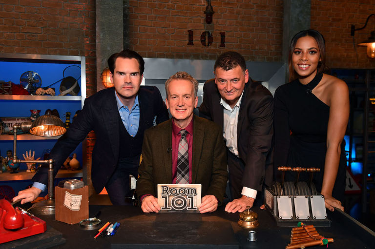 Steven Moffat complains about the Scottish in Room 101 clip