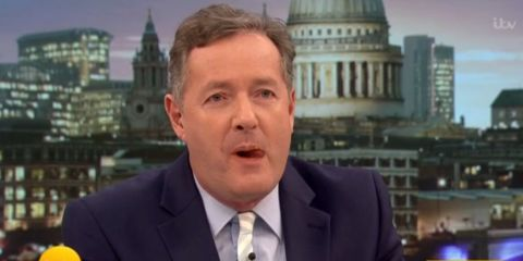 "Piers Morgan blasted for ""laughing at funerals"" during Twitter row about Modern Family and John Oliver"