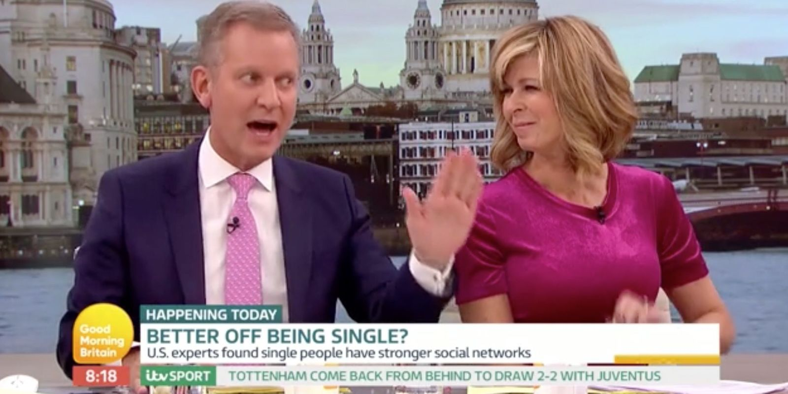 Kate Garraway Finally Responds To Jeremy Kyle Affair Rumours photo