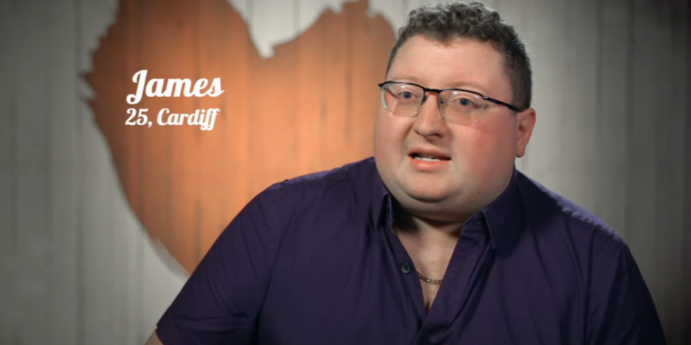 Disney superfan James on First Dates Valentine's Special