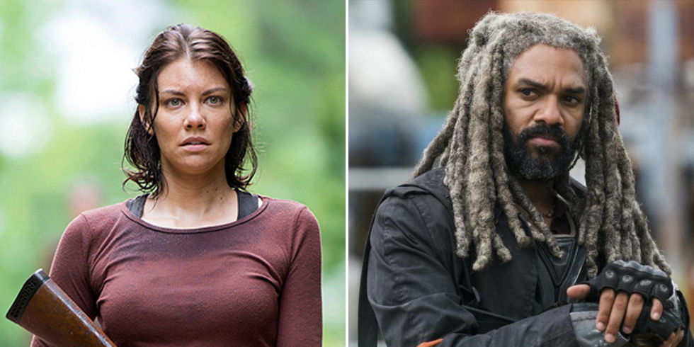 Khary Payton Lauren Cohan Ezekiel Maggie The Walking Dead
