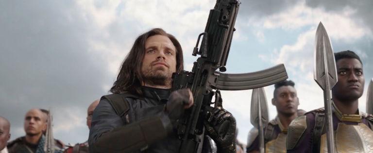 Bucky, Winter Soldier, Sebastian Stan, Avengers Infinity War trailer