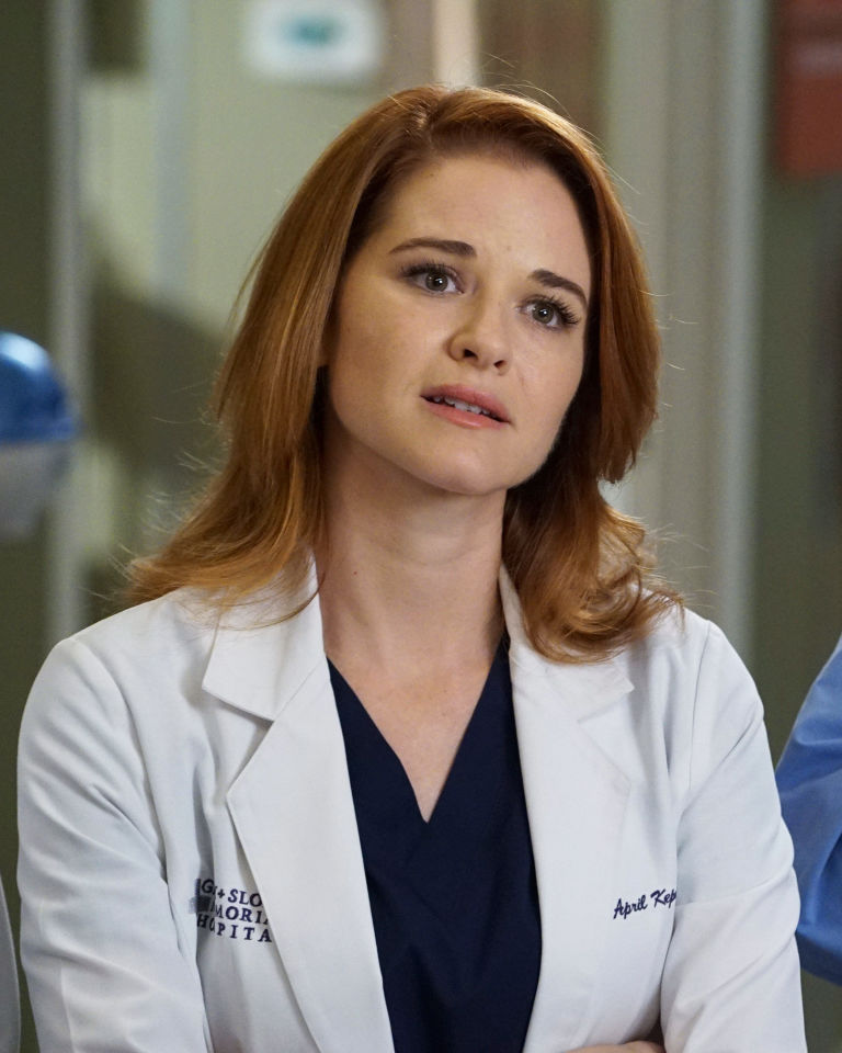 Greys Anatomy Fans Worry April Will Be Killed Off After Sarah Drew
