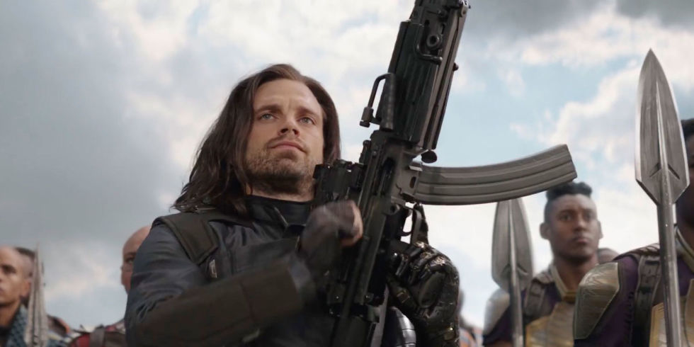 Image result for avengers infinity war bucky