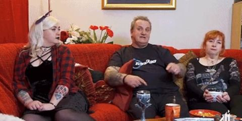"Gogglebox's Ralf accused of being ""sexist"" by viewers over Sport Relief's female boxing"