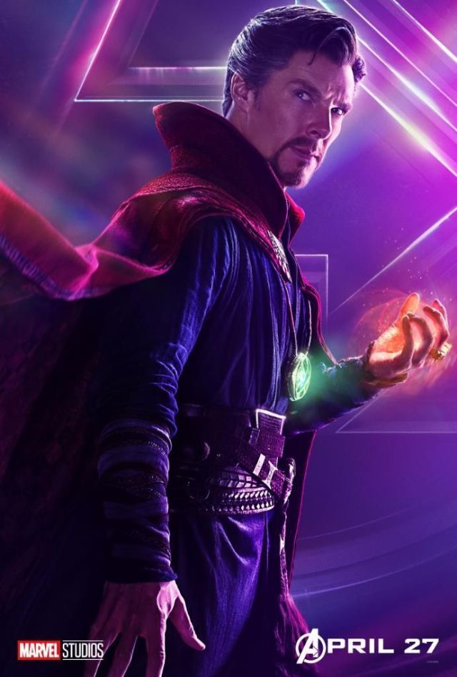 Avengers: Infinity War character poster: Doctor Strange