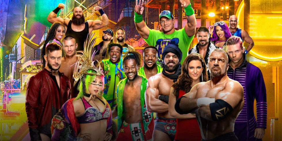 Whos dating who wwe 2019 elimination