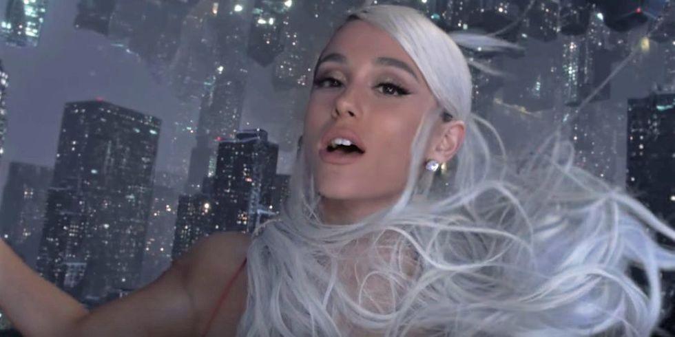 白髪のアリアナグランデ