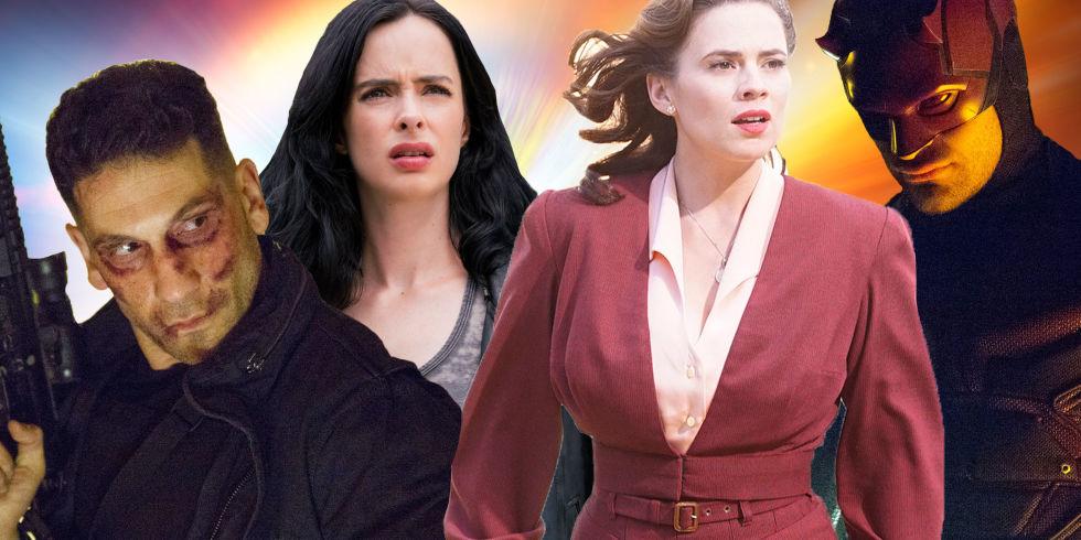 PHOTOSHOP, Marvel TV shows, The Punisher, Jessica Jones, Agent Carter,  Daredevil