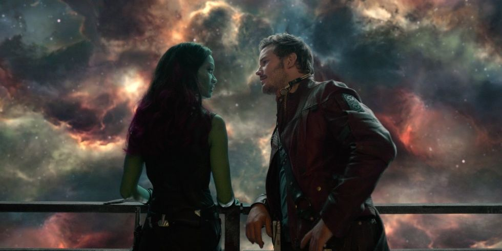 Image result for guardians of the galaxy scene