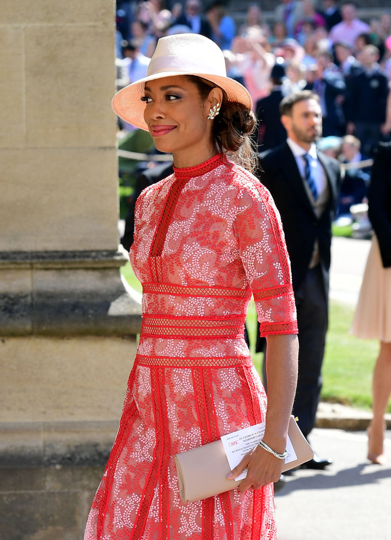 Meghan Markle\'s Suits co-stars arrive at St George\'s Chapel in ...