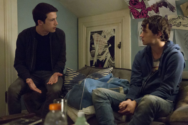 Clay and Justin in season 2 of 13 Reasons Why