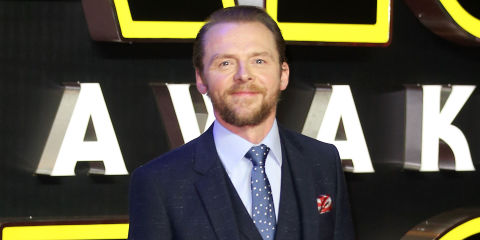 Simon Pegg regrets hating on Star Wars' Jar Jar Binks