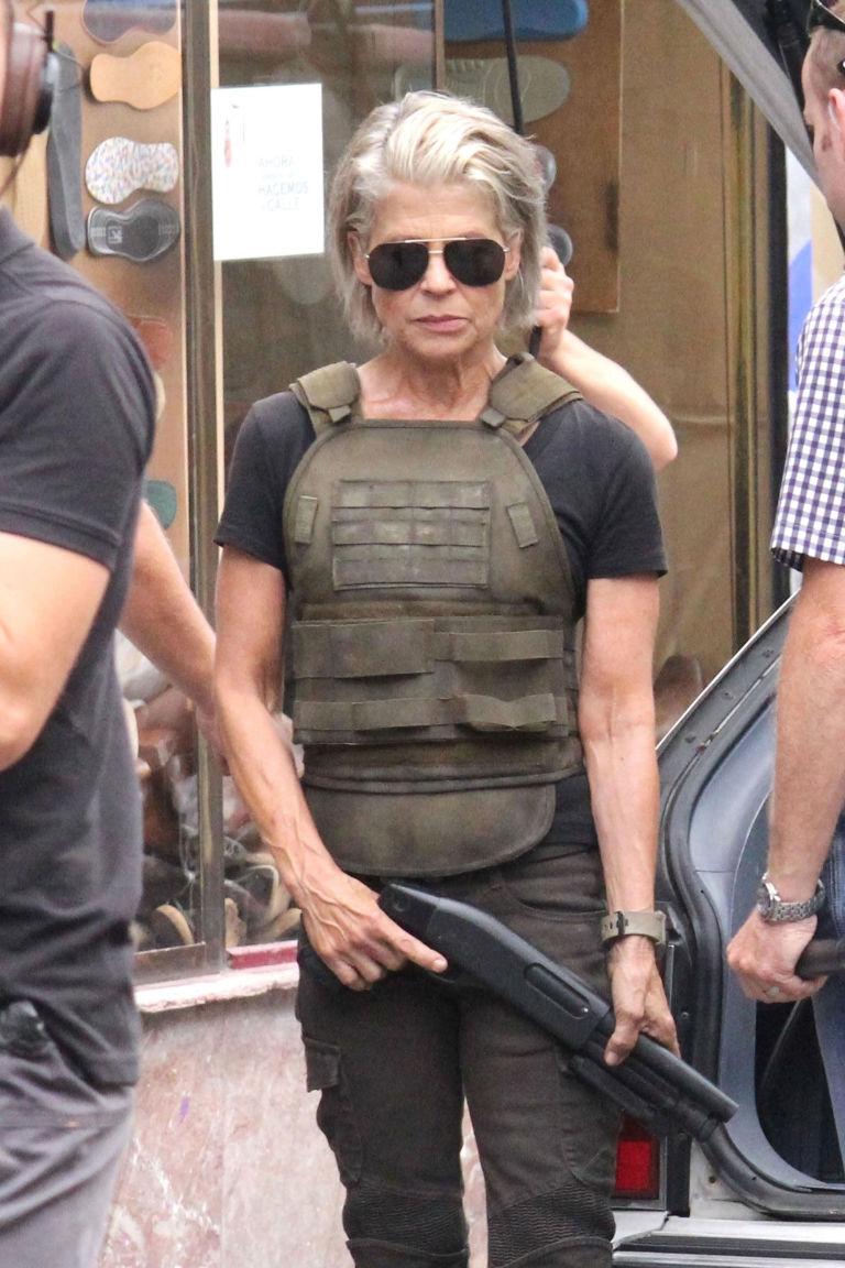 terminator 6 reveals linda hamilton's return as sarah connor at 61