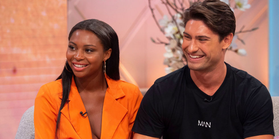 Frankie Foster Samira Mighty From Love Island On The Lorraine Show July