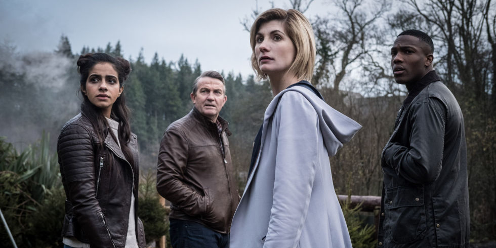 doctor who series 11 with jodie whittaker the doctor bradley walsh graham - 12 Dates Of Christmas Trailer