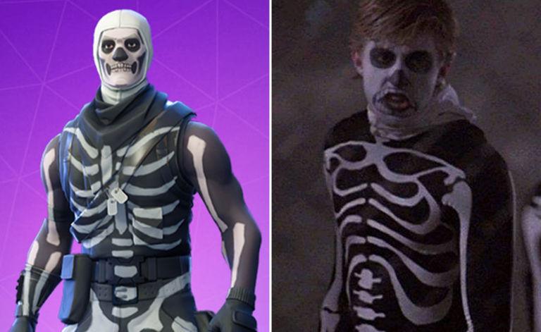 Skull Trooper Costume & Letsdrawkids-how-to-draw-fortnite