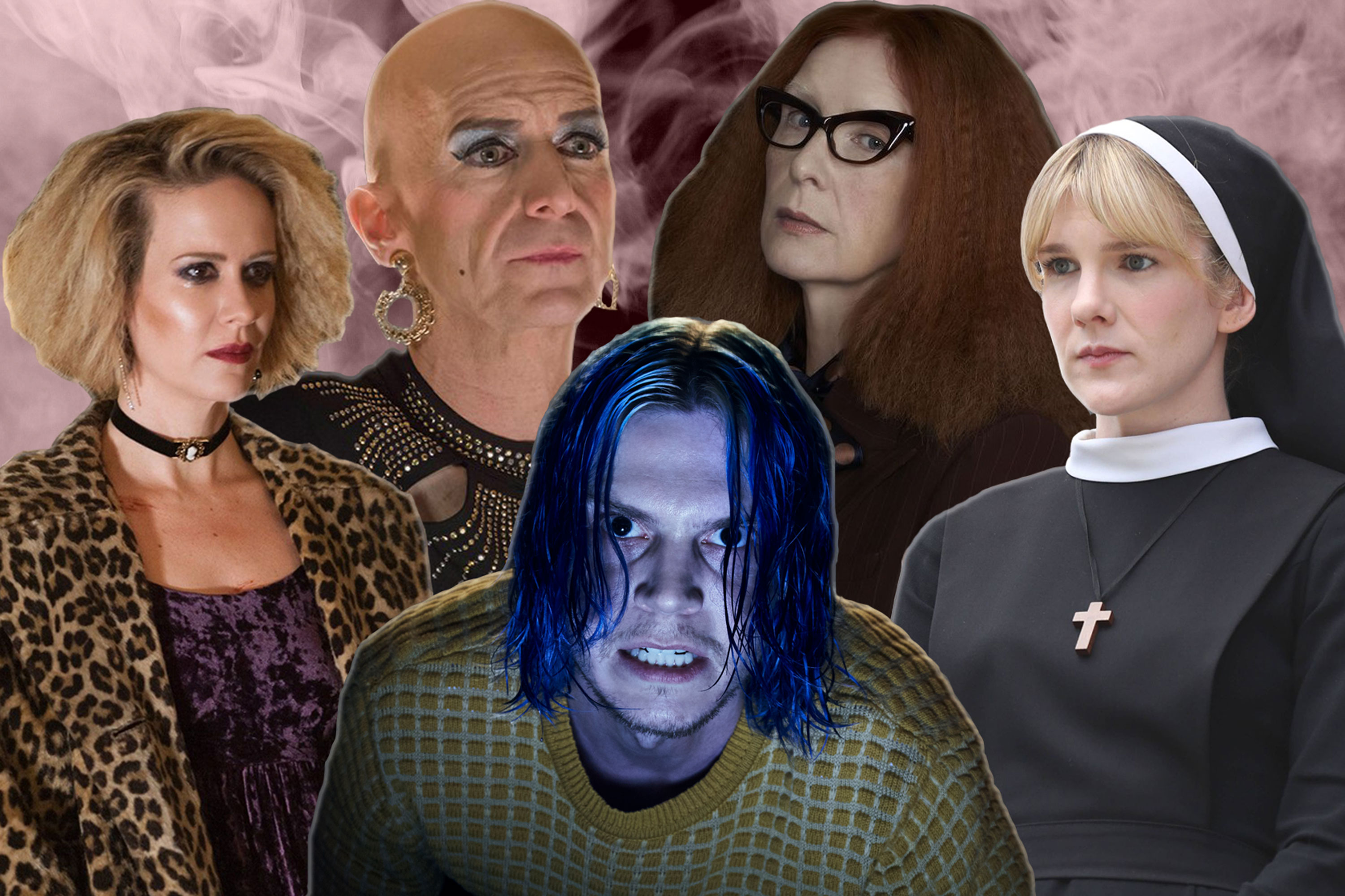 American Horror Story Cast Revealed In Retro Video