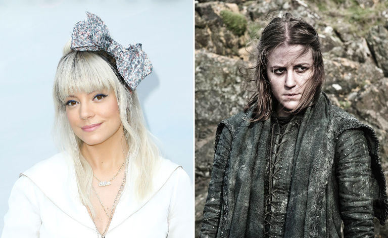 Lily Allen, Yara Greyjoy, Game of Thrones, Actors turned down roles