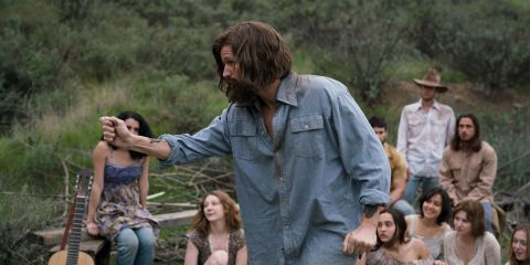 Matt Smith looks unrecognisable as he transforms into evil Charles Manson for new movie, Charlie Says