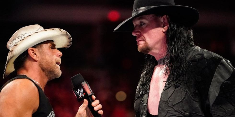 wwe raw results the undertaker teases one more match with shawn