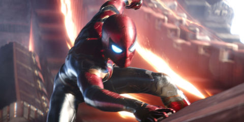 This is what Tom Holland's new Spider-Man suit looks like