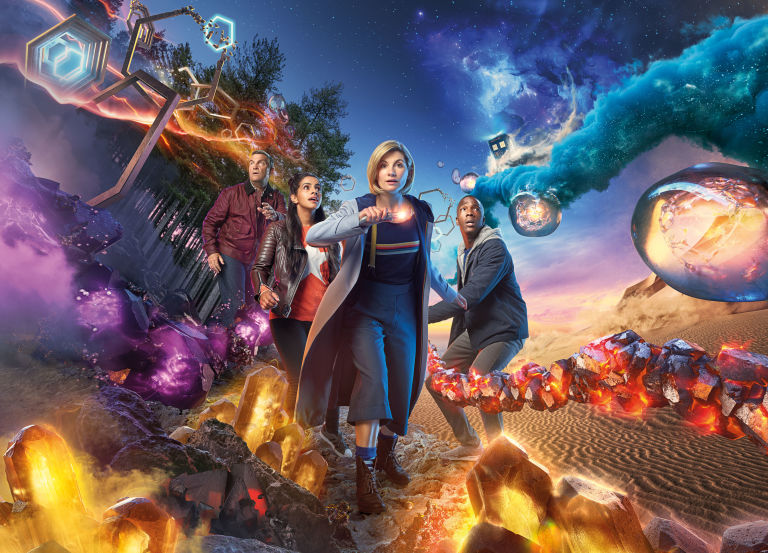Doctor Who series 11 – iconic image