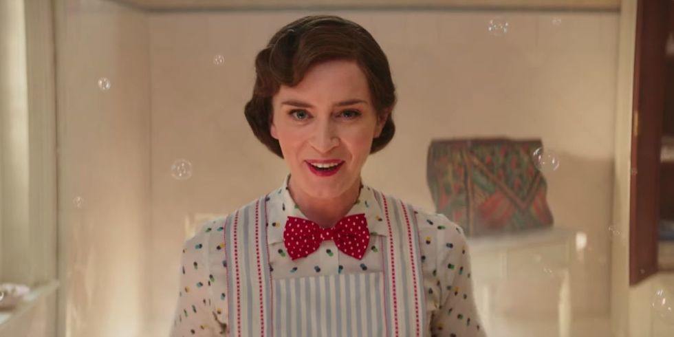 emily blunt mary poppins returns - 12 Dates Of Christmas Trailer