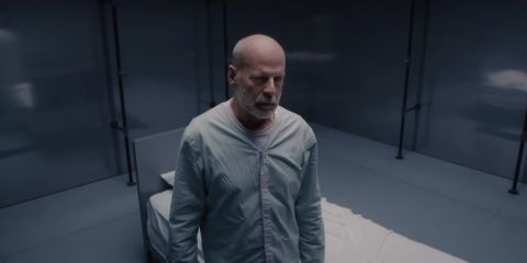 Unbreakable sequel Glass trailer 2 announced as Bruce Willis's superhero name is revealed