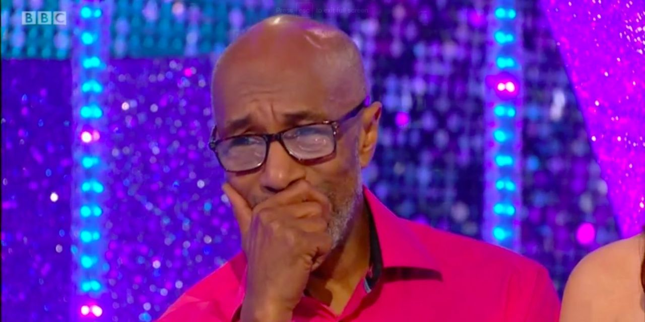 """Danny John-Jules of Strictly Come Dancing admits he was """"totally shocked"""" and escaped the dance"""