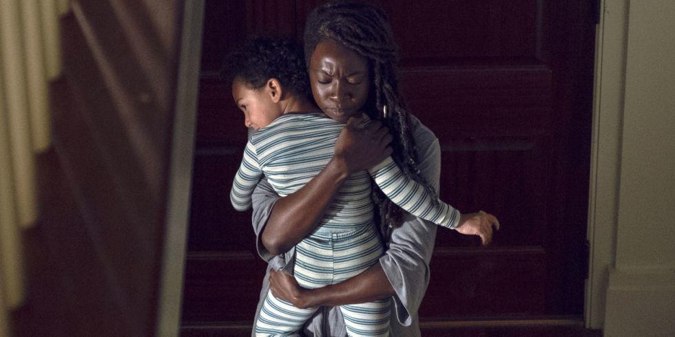 Ο γιος της Michonne και του Rick είναι αληθινός;