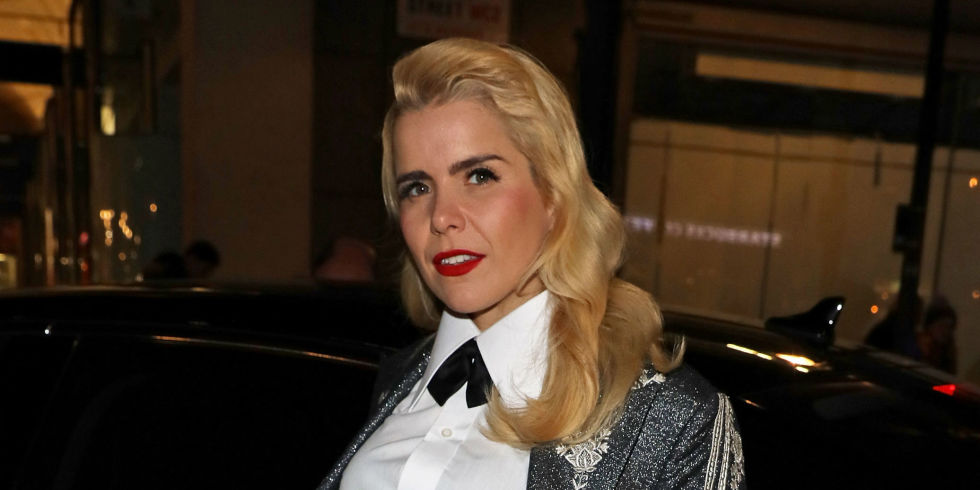Paloma Faith arrives in an Audi at British GQ's 30 Years Anniversary Celebration