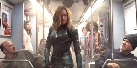 Trailer terbaru ini memperlihatkan banyak aksi keren Brie Larson (dok. Marvel)